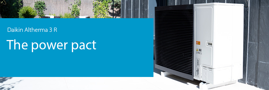 Daikin Altherma 3 M, the power pact.